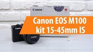 Розпакування фотоапарата Canon EOS M100 kit 15-45mm IS / Unboxing Canon EOS M100 kit 15-45mm IS