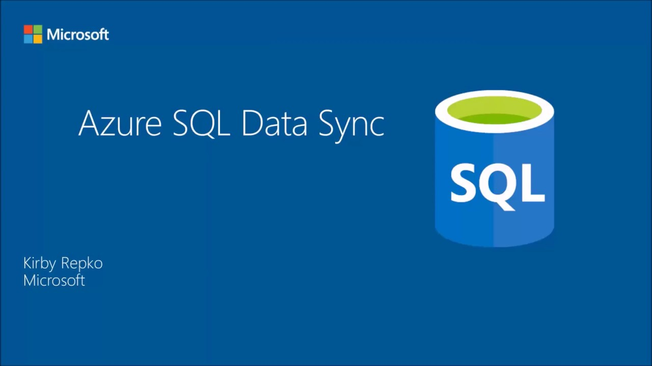 Azure SQL Data Sync - How to synchronize on-premises and cloud SQL databases