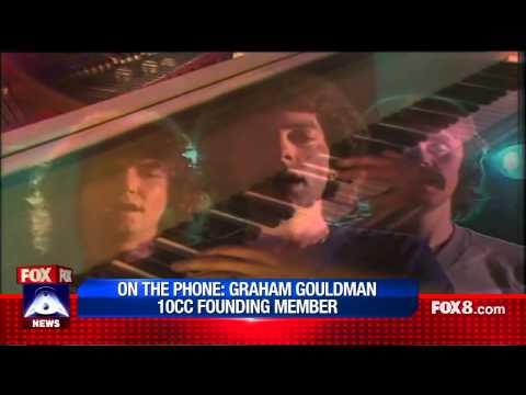 Fox 8 News | Graham Gouldman Interview (10cc)