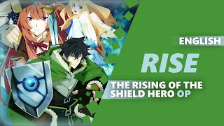 RISE (The Rising Of The Shield Hero OP) | ENGLISH ROCK COVER By Dima Lancaster