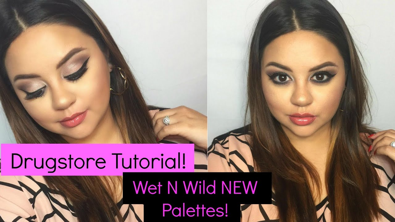 Super Drugstore Tutorial! |Wet N Wild Au Naturale Palette| MakeupAngel23  FJ62