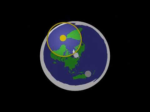 Flat Earth Animation thumbnail