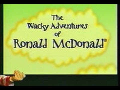 The Wacky Adventures Of Ronald Mcdonald:The Complete Series All 6 Episodes