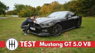 TEST Ford Mustang GT 5.0 V8 - Americké svaly - CZ/SK