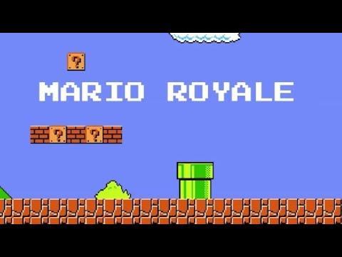 Mario Royale - 75 Player Online Super Mario Bros Battle Royale!