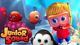 среда обитания животных | музыка для малышей | обучающие | Junior Squad Russia | детские песни