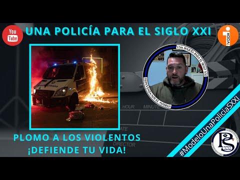 Una asociación policial defiende el uso de fuego real en los disturbios