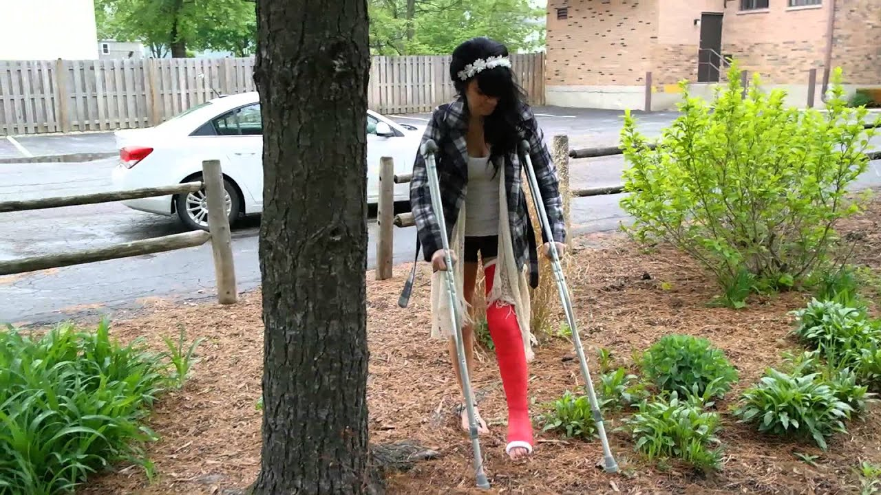 Her sexy crutches porn teen