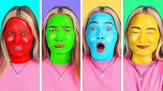 TIK TOK COLORS CHALLENGE || Funny Viral Challenges and Pranks by 5-Minute Crafts LIKE