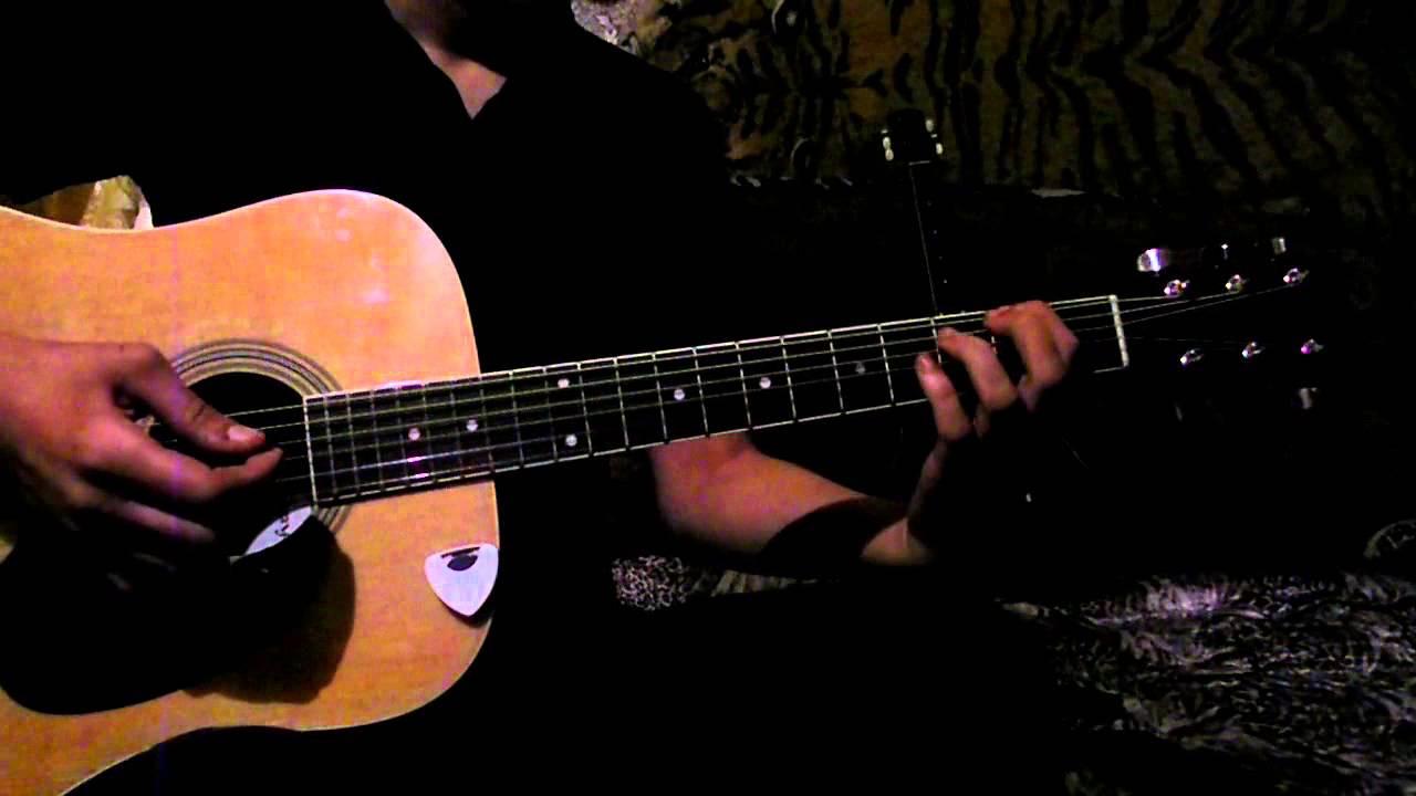 добавим мелодии на гитаре видеоразбор киноактер Рыжов
