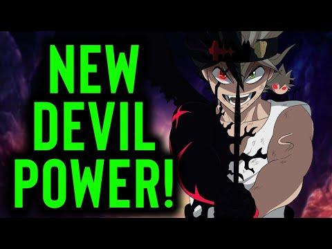 NEW DEVIL POWER! Asta and Liebe vs Nacht - Black Clover