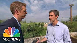 Beto O'Rourke Says He's 'Throwing All Political Or Polling Caution To The Wind' | NBC News