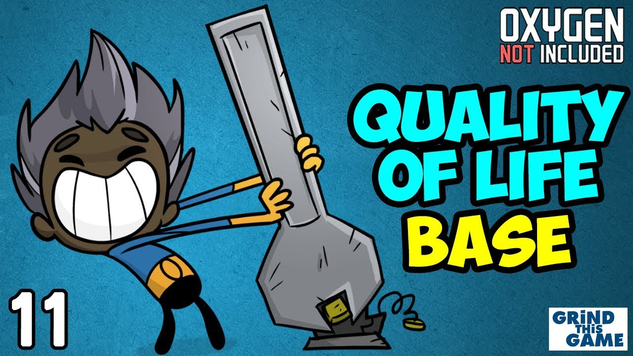 Oxygen Not Included – Quality Of Life Upgrade Base #11 (Metal