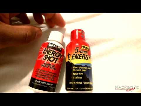 5 HOUR ENERGY VS COSTCO KIRKLAND  ENERGY SHOT REVIEW