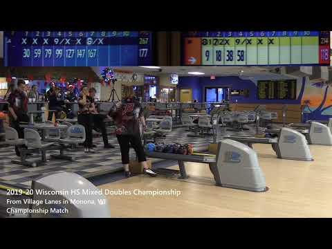 2019-20 Wisconsin High School Mixed Doubles Championship - Finals