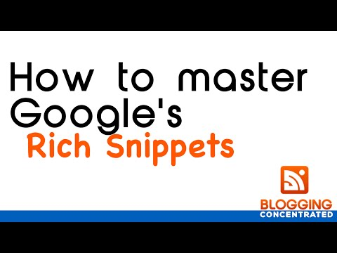 GOOGLE RICH SNIPPETS MADE EASY
