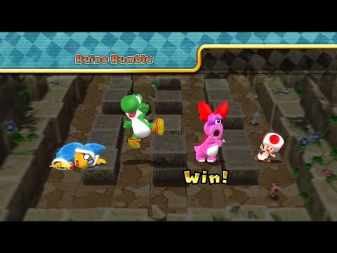 Mario Party 9 Step it up 1 vs rivals #78
