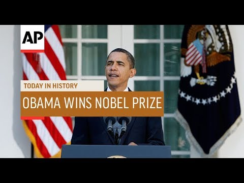 Obama Wins Nobel Peace Prize - 2009 | Today In History | 9 Oct 18