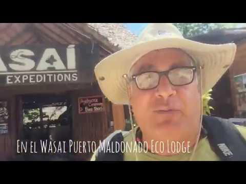 En el Hotel Wasai en Puerto Maldonado