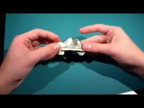How To Fold A Dollar Origami Car Designed By Superfolder1 Youtube
