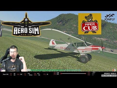 Part 1 Piper Super Cub Beta 1.05 by Aero Sim Development Group  - X-Plane 11