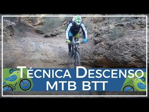 Decir Alonso es decir Técnica MTB BTT descenso ciclismo montaña