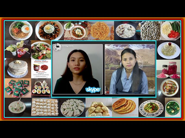 Introducing food vlogger Dickeydol & her special veg recipes for Saka dawa