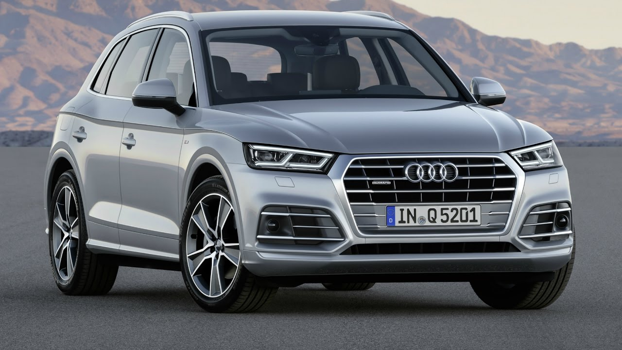 2017 Audi Q5 Tdi Quattro Florett Silver Drive And Design Youtube