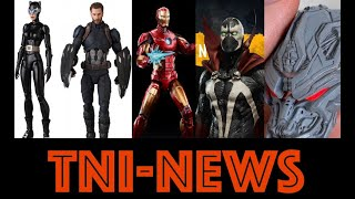 TNINews: Avengers Game Marvel Legends, Mortal Kombat 11 Spawn Action Figure, MAFEX Catwoman And More