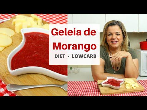 Geleia de Morango:  Diet -  LowCarb