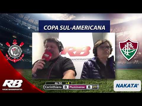 Copa Sul-Americana - Corinthians X Fluminense - 22/08/2019 - AO VIVO