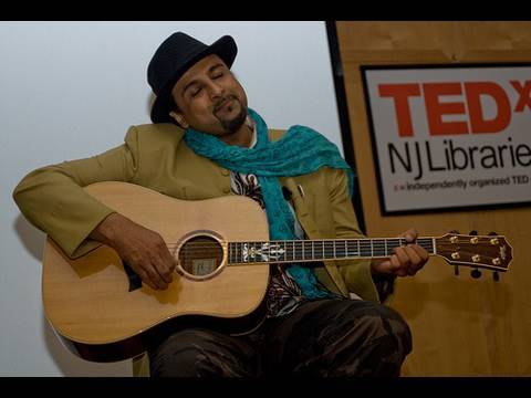 TEDxNJLibraries - Salman Ahmad - Sounds Intersecting and ...