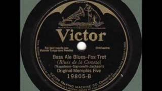 Original Memphis Five - Bass Ale Blues - 1925