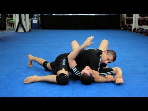 How To Do An Americana From Scarf Hold | MMA Submissions