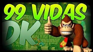 TRUCO DE 99 VIDAS EN donkey kong country