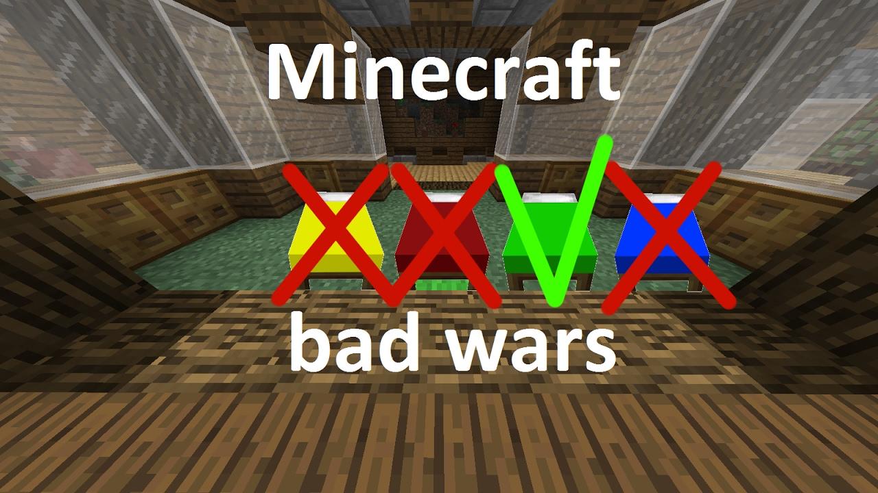 minecraft mini game bad wars youtube. Black Bedroom Furniture Sets. Home Design Ideas