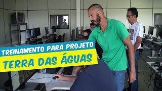 TREINAMENTO DOS ESTAGIÁRIOS DO PROJETO TERRA DAS ÁGUAS