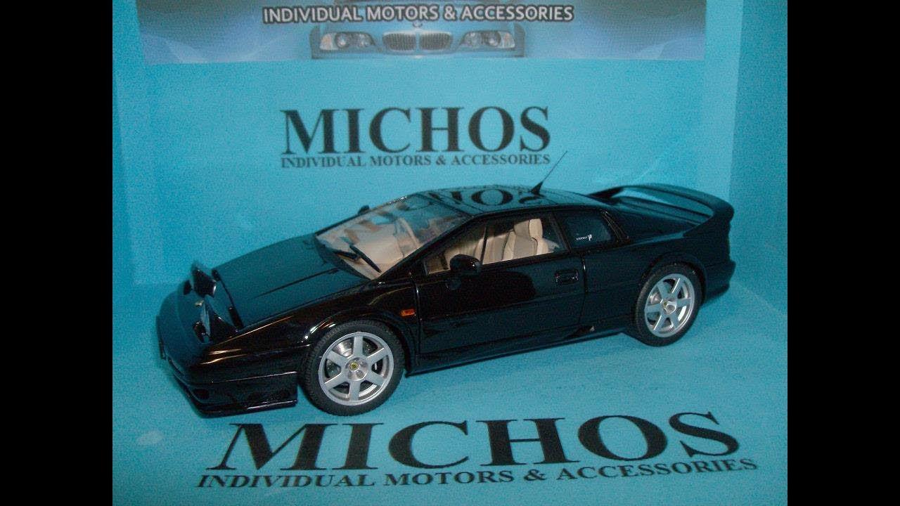 outlet store sale look good shoes sale new products 1/18 Lotus Esprit V8 '1996' Black /Autoart [75312] Diecast ...