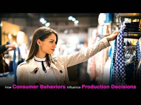 How Consumer Behaviors Influence Production Decisions