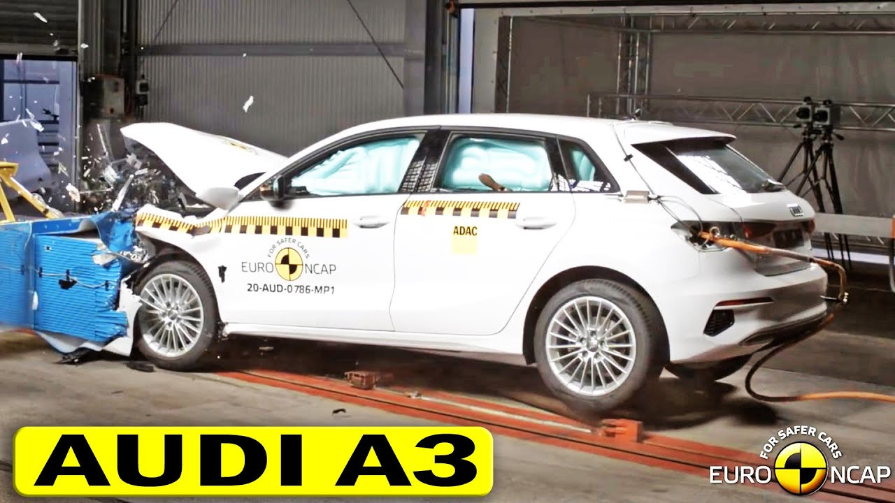 2021 Audi A3 Crash & Safety Test Euro NCAP - YouTube