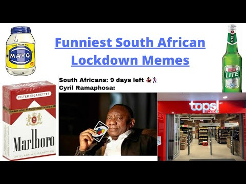 Best South African Lockdown Memes Youtube