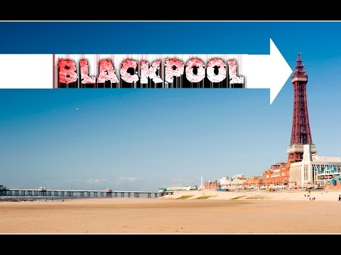 BLACKPOOL PROMENADE SEAFRONT TOUR HD