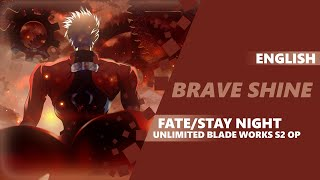 ENGLISH FATE/STAY NIGHT: UBW OP - Brave Shine [Dima Lancaster feat. Miku-tan]
