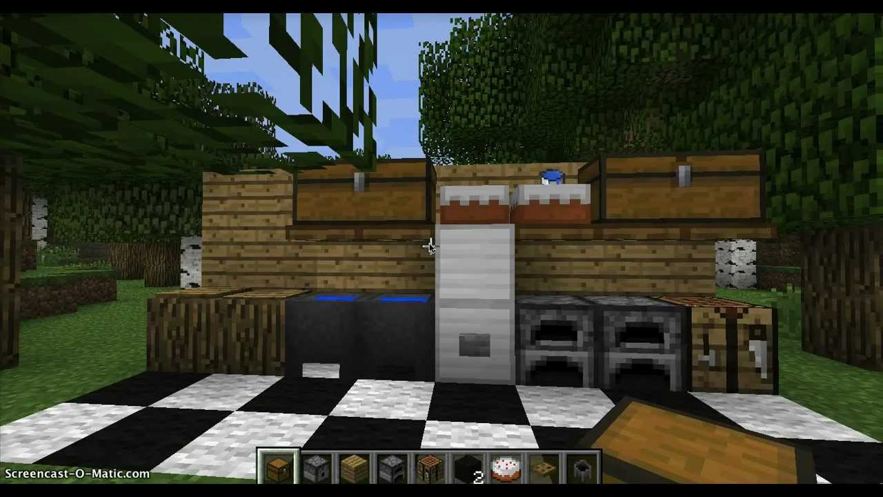 how to make a kitchen in minecraft. Simple Kitchen On How To Make A Kitchen In Minecraft