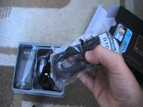 LG KS360 Unboxing