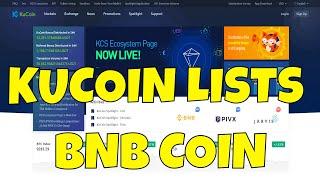 Binance Bans USA Users   Kucoin & Gate.IO Begin Trading Binance BNB Coin