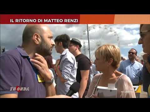 Il ritorno di Matteo Renzi