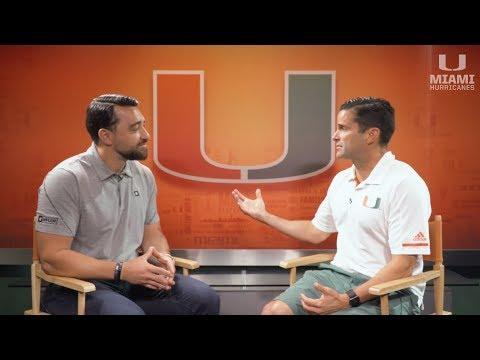 Miami Football Coach Manny Diaz Talks Student-Athletes And Social Media