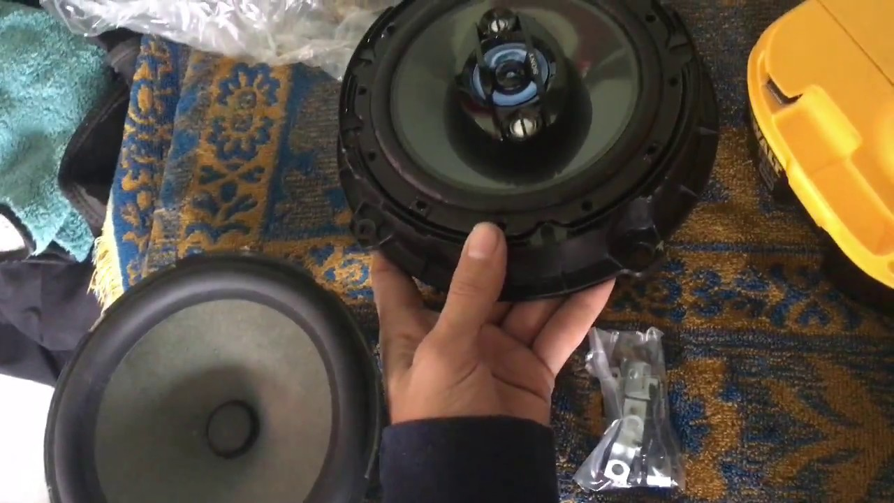 How To Replace Rear Door Speakers Hyundai Elantra