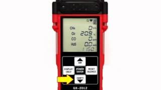 GX-2012 Gas Detector Calibration